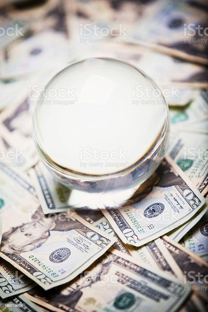 Crystal Ball royalty-free stock photo