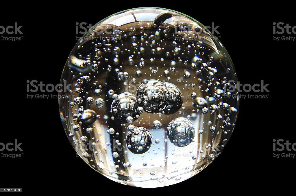 Boule de cristal photo libre de droits