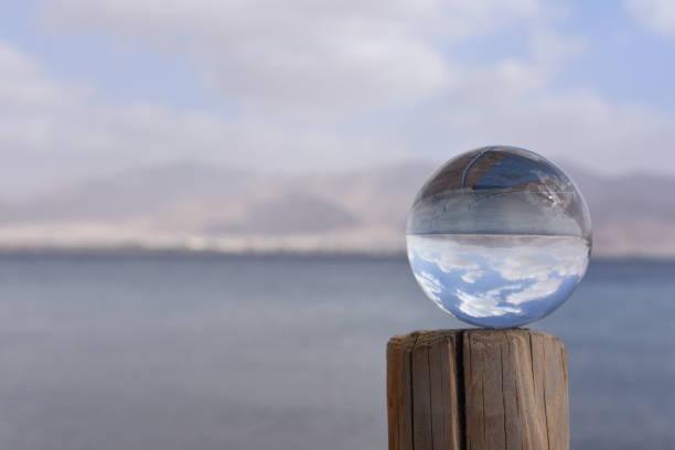 Kristallkugel, das Rote Meer, Eilat, Israel – Foto