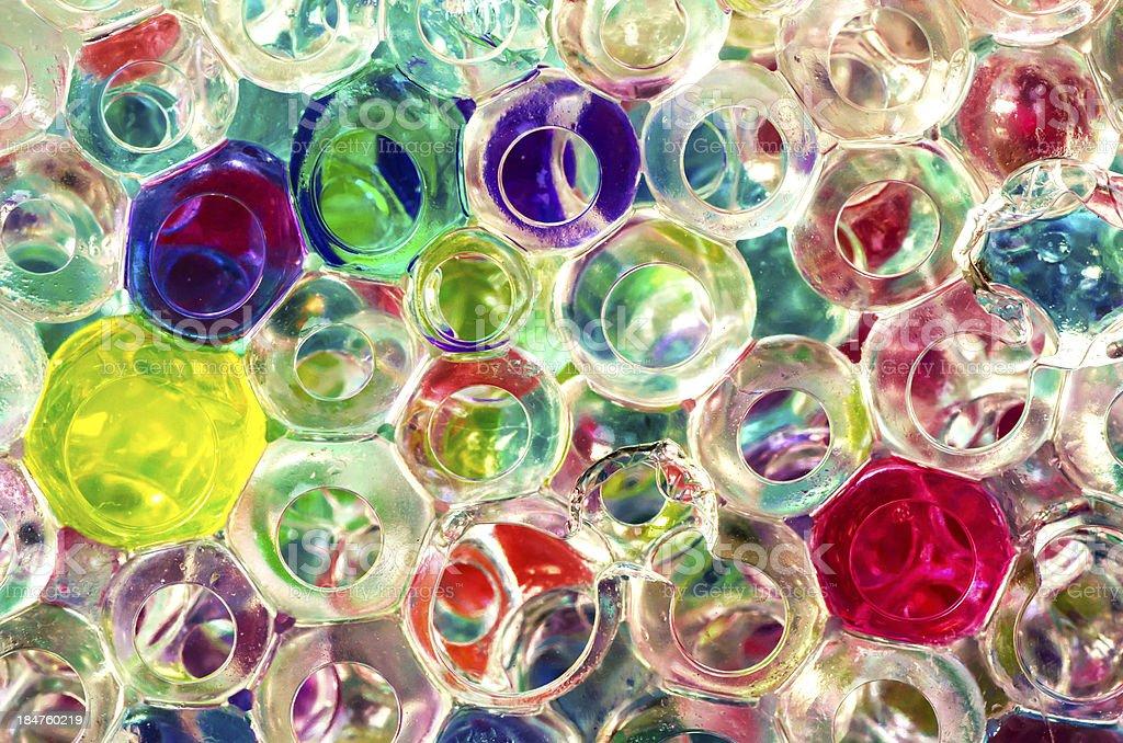 Crystal Bubbles royalty-free stock photo