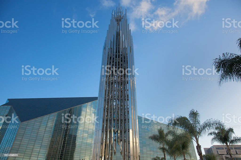 Crystal Cathedral in Garden Grove royalty-free stock photo