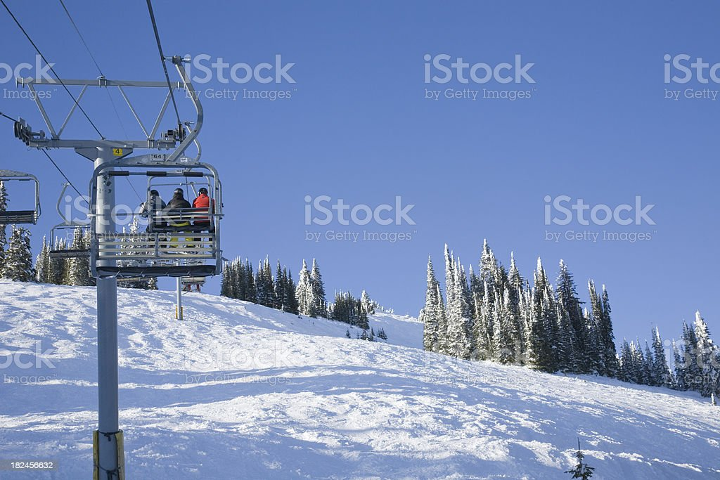 Crystal Chair at Sun Peaks royalty-free stock photo