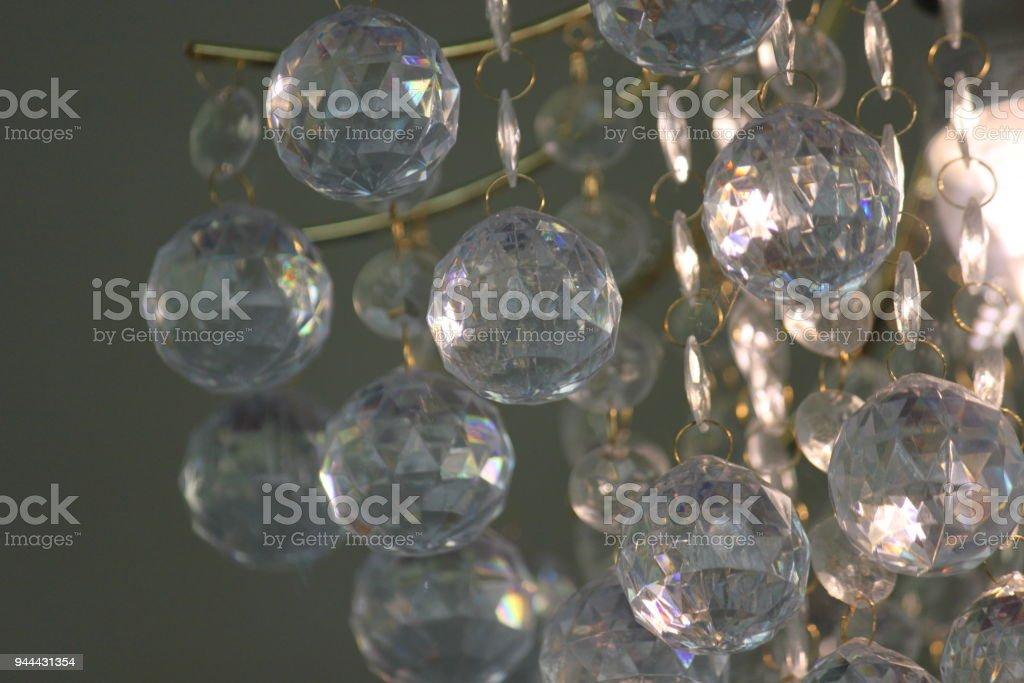 Crystal Chandalier stock photo