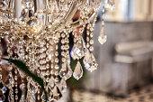 istock Crystal chandelier 1264333159