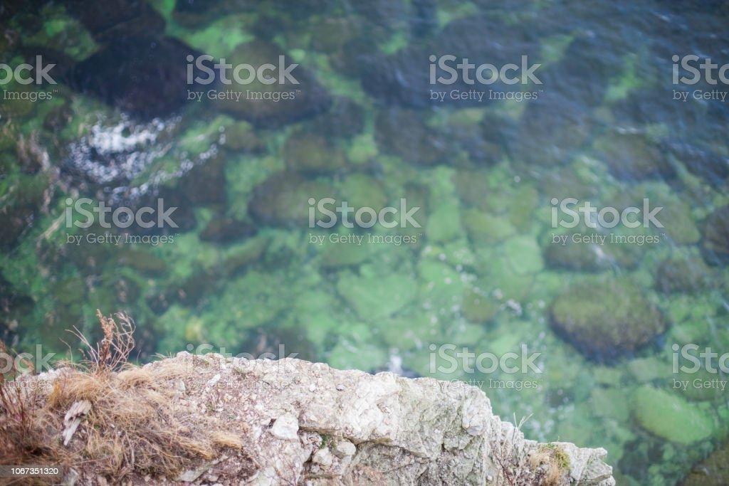 Kristallklare Smaragd grünen Meerwasser – Foto