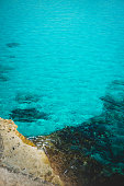 Crystal Clear Turquoise Water at a Mediterranean Cove