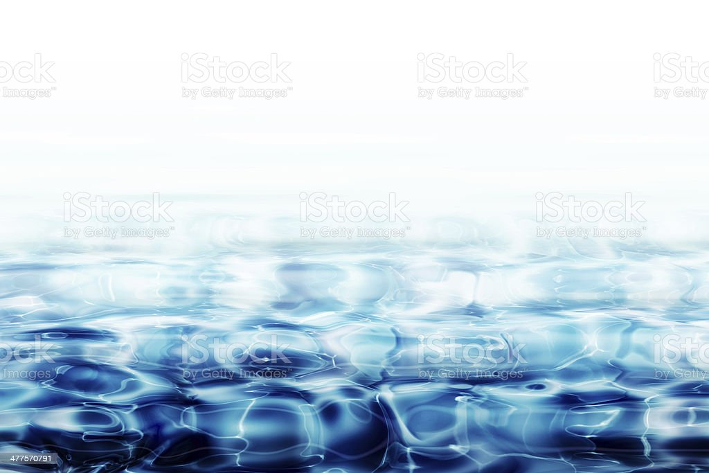 crystal clear water piano stock photo