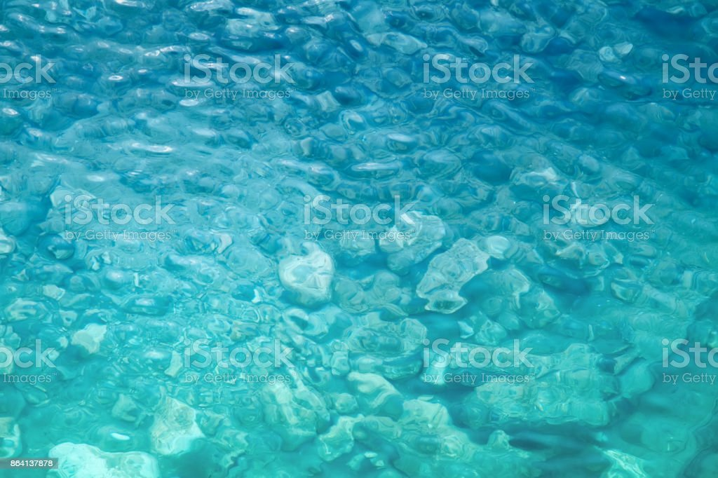 crystal clear water royalty-free stock photo