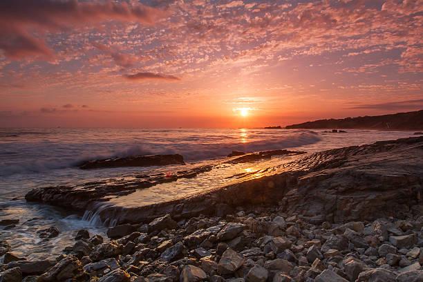 Crystal Cove, Laguna Beach stock photo