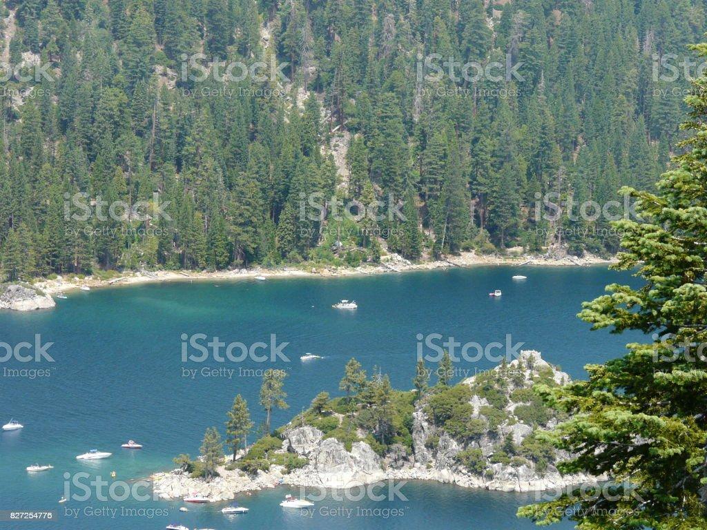 Crystal Cove, Lake Tahoe stock photo
