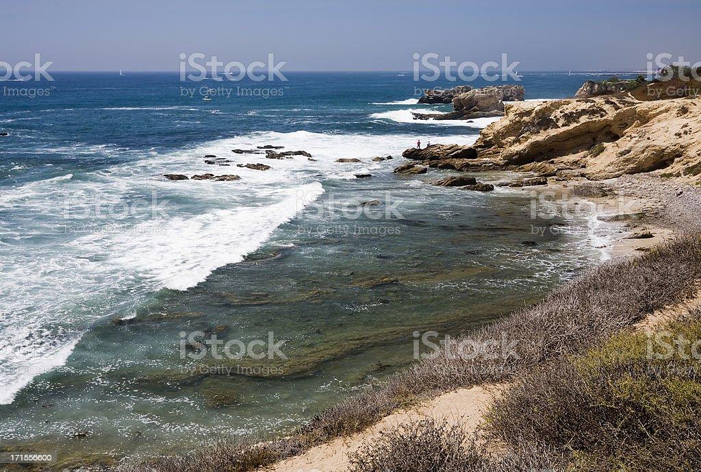 Crystal Cove Seashore stock photo