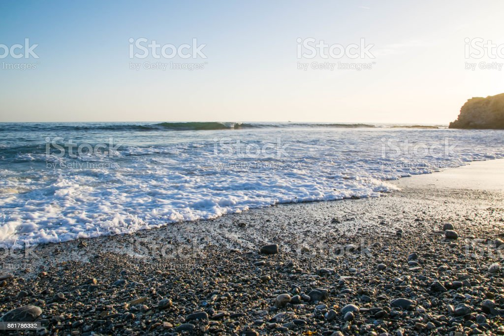 Crystal Cove State Beach stock photo