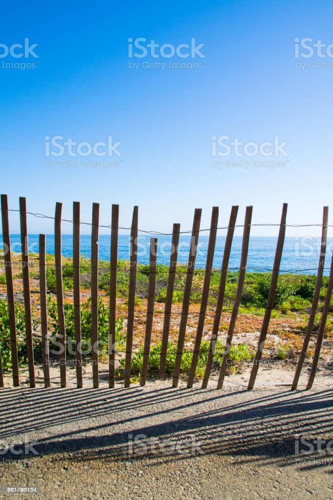 Crystal Cove State Park in Orange County, California stock photo