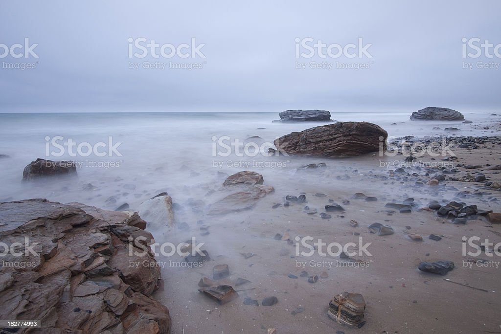 Crystal Cove state park stock photo