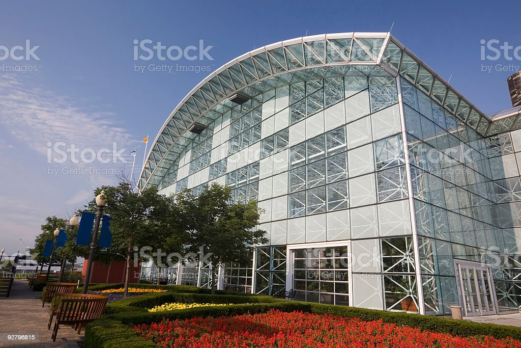 Crystal Gardens, Chicago stock photo