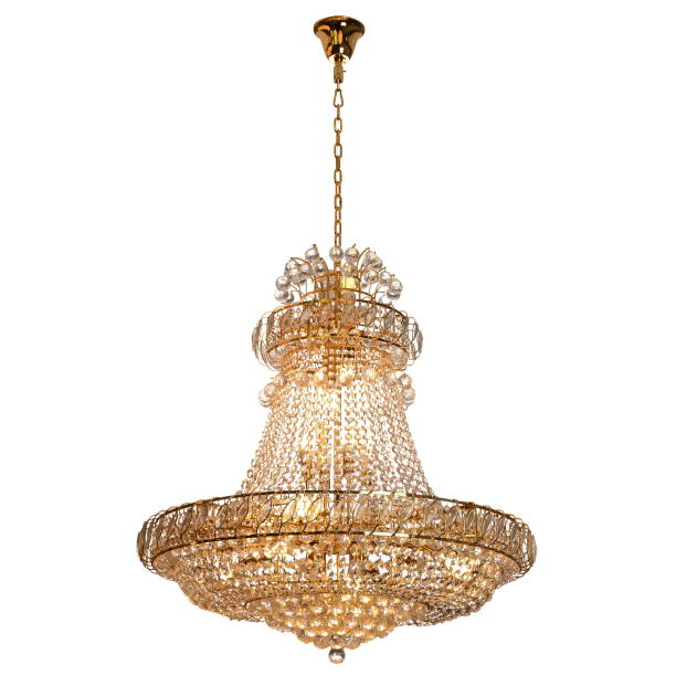 Crystal glass chandelier isolated Crystal glass chandelier isolatedCrystal glass chandelier isolated chandelier stock pictures, royalty-free photos & images