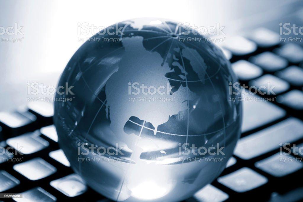 Crystal Globe royalty-free stock photo