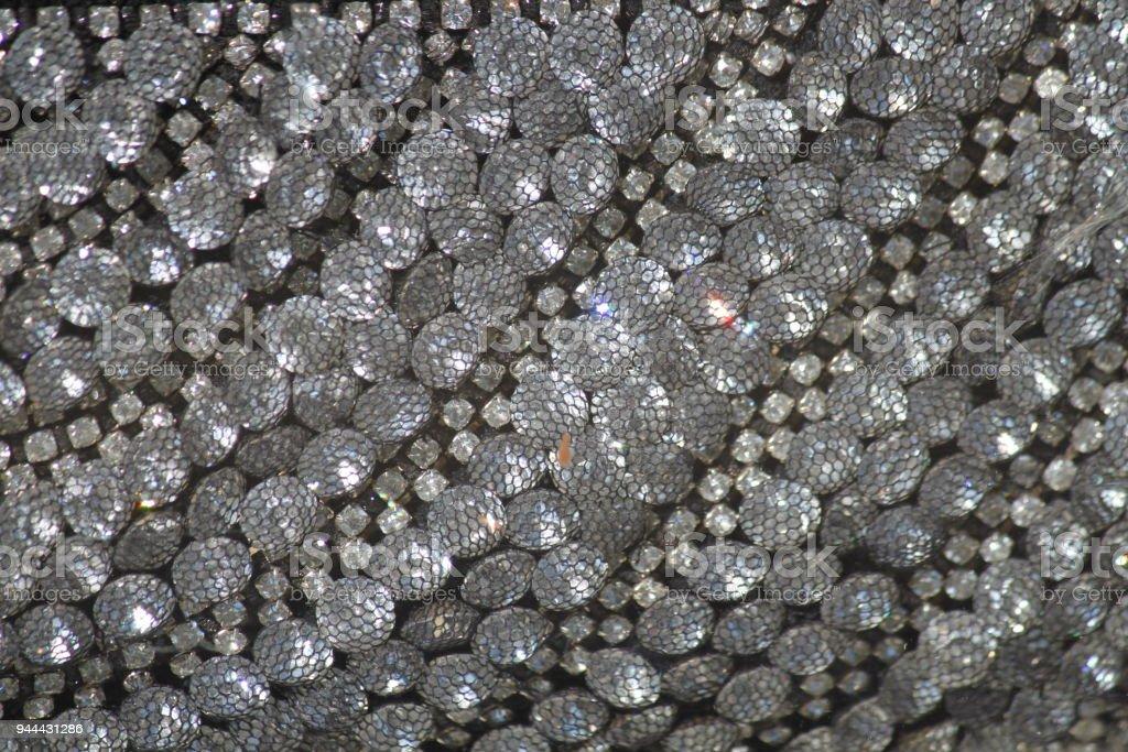 Crystal Jeweled Background stock photo
