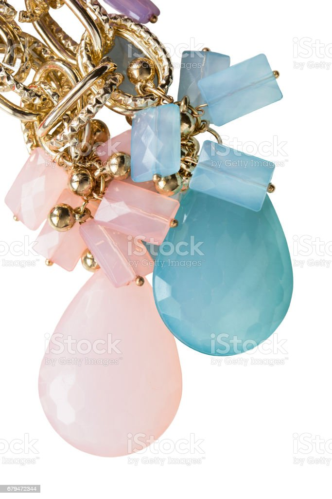 Crystal jewels isolated royalty-free stock photo
