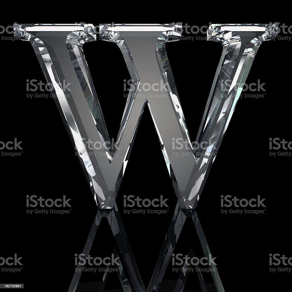 Bildresultat för letter w white