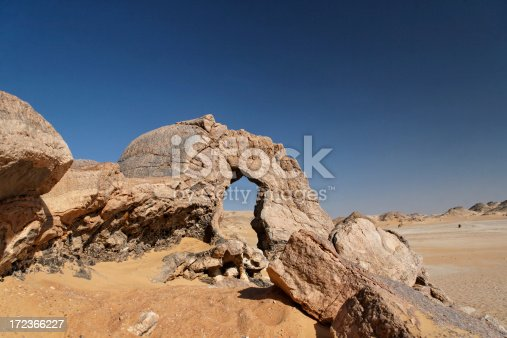 Sand dunes landscape background. Panoramic desert with ripples