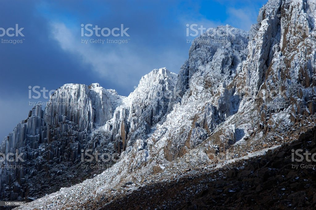 Crystal Mountain royalty-free stock photo
