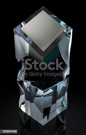 istock Crystal Obelisk Trophy 182691946