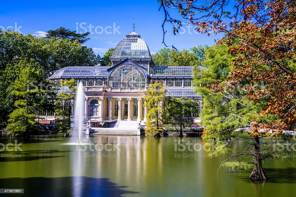 Crystal Palace stock photo