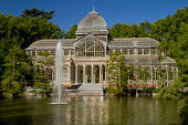 Crystal Palace Retiro Public Park Madrid