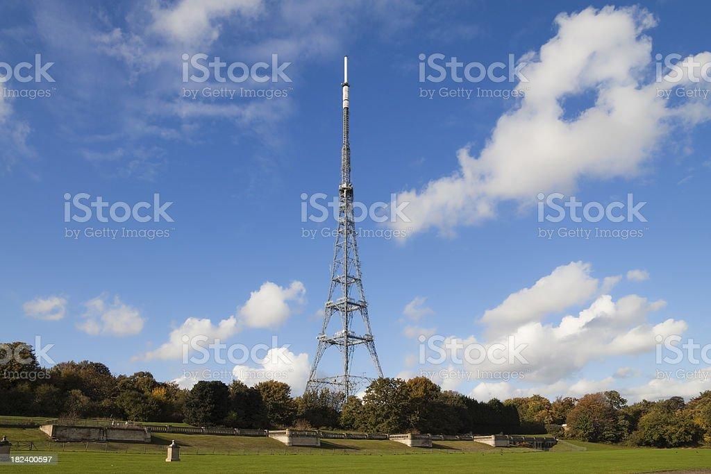 Crystal Palace transmitter stock photo