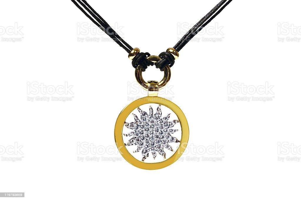 Crystal Pendant royalty-free stock photo