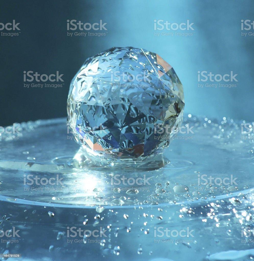 crystal royalty-free stock photo
