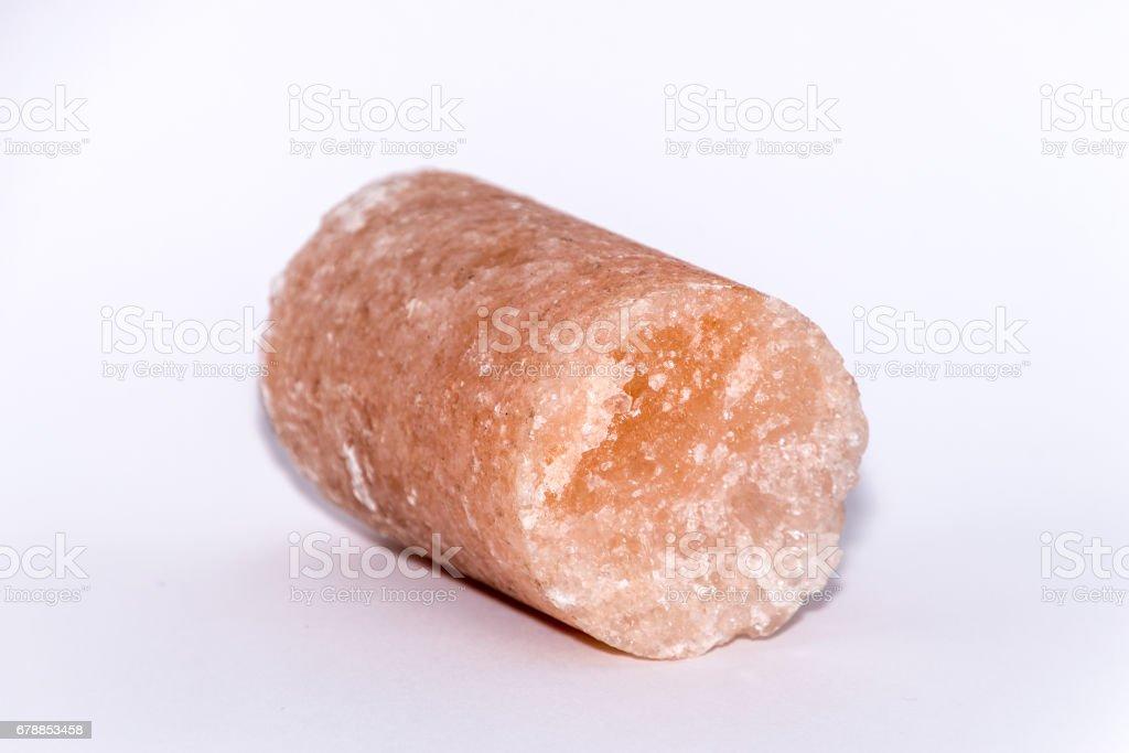 Crystal pink rose gemstone gem jewel mineral precious stone stock photo