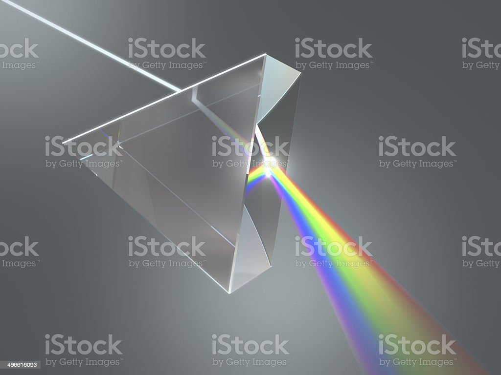 Crystal Prism stock photo