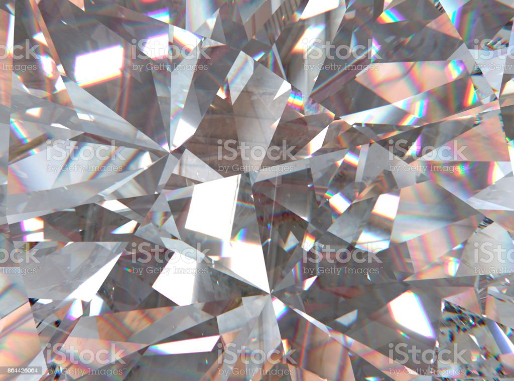 crystal refractions background stock photo