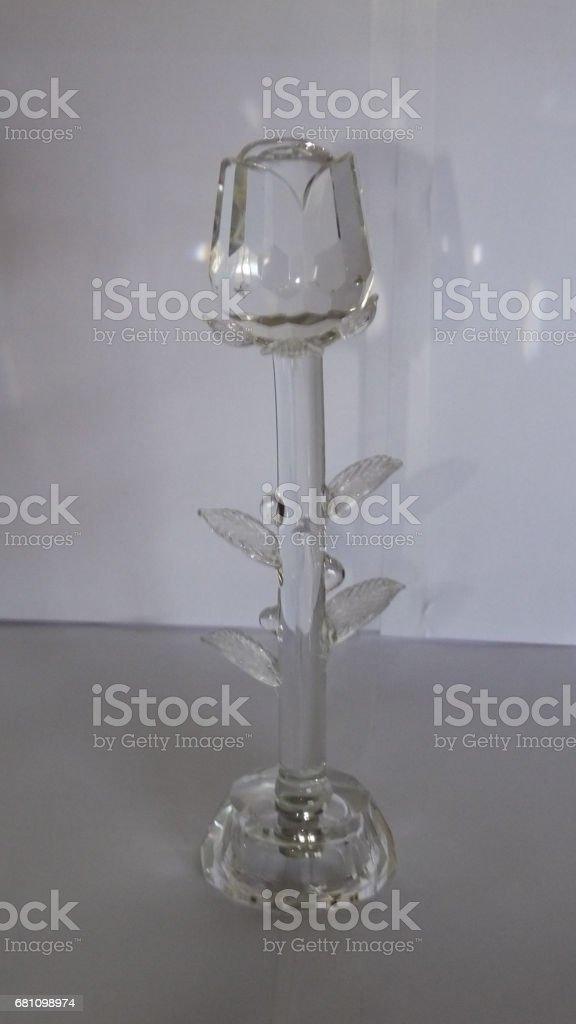 Crystal Rose royalty-free stock photo