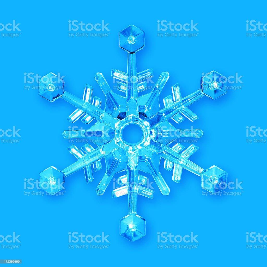Crystal Snowflake royalty-free stock photo