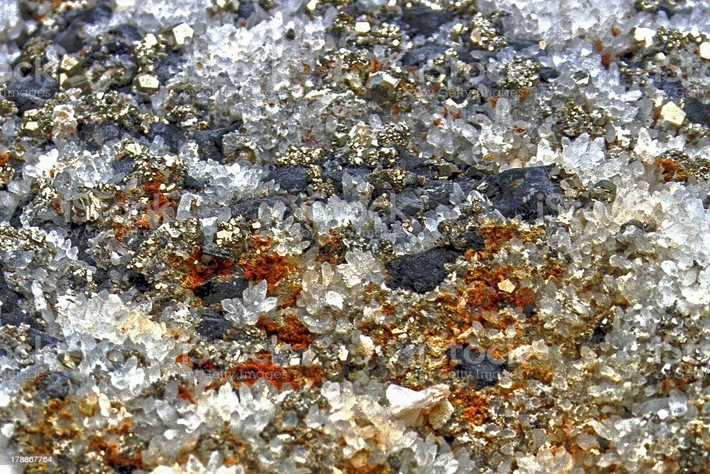 Crystal stones royalty-free stock photo