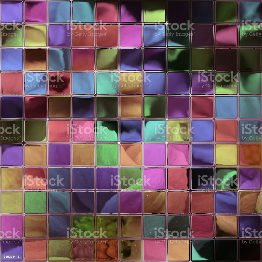 Crystal tiles generated hires texture stock photo
