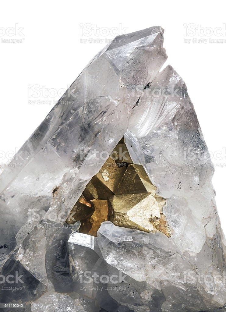 crystallic minerals stock photo