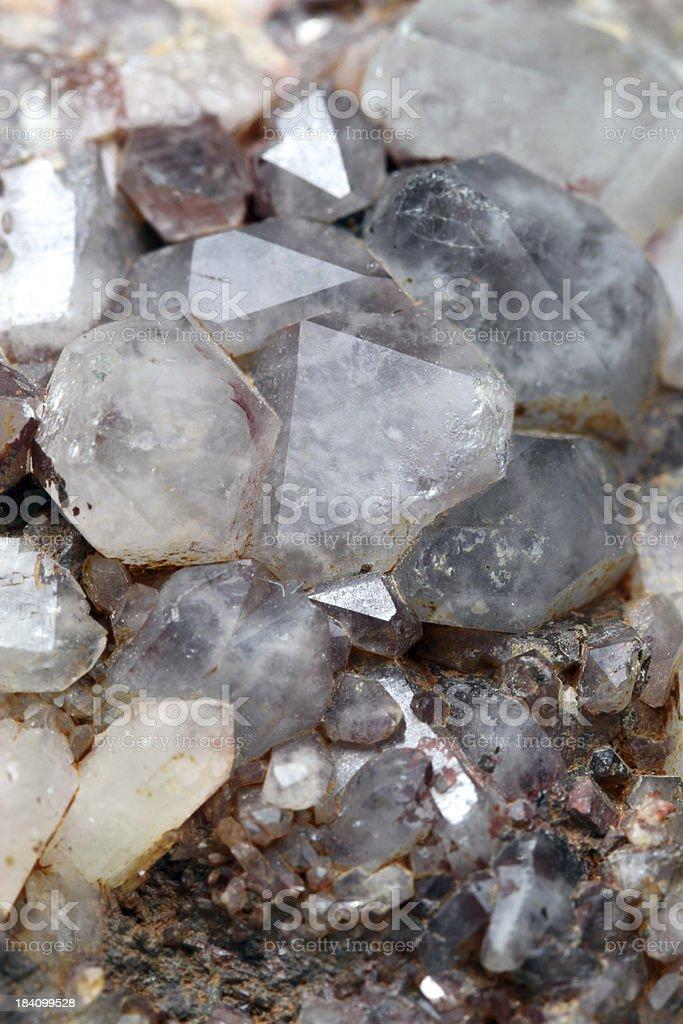 Crystalline Rock royalty-free stock photo