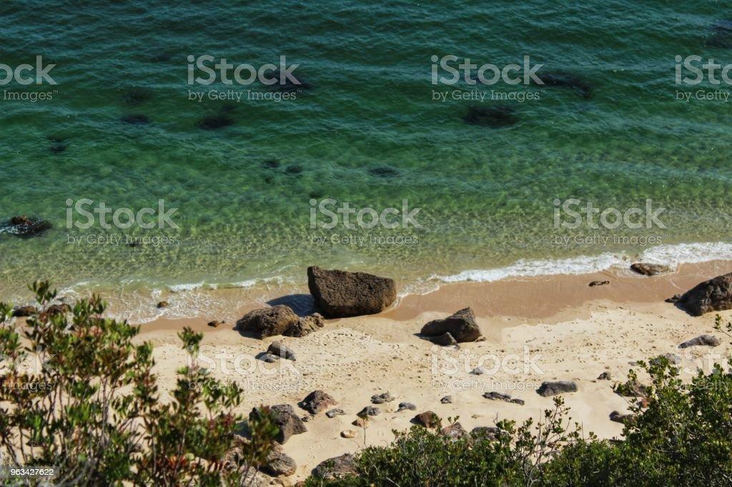 Eaux cristallines de la plage de Galapinhos à Lisbonne - Photo de Ambiance - Événement libre de droits