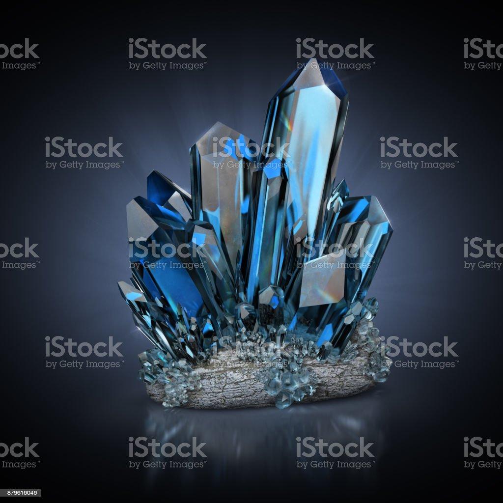 crystals стоковое фото