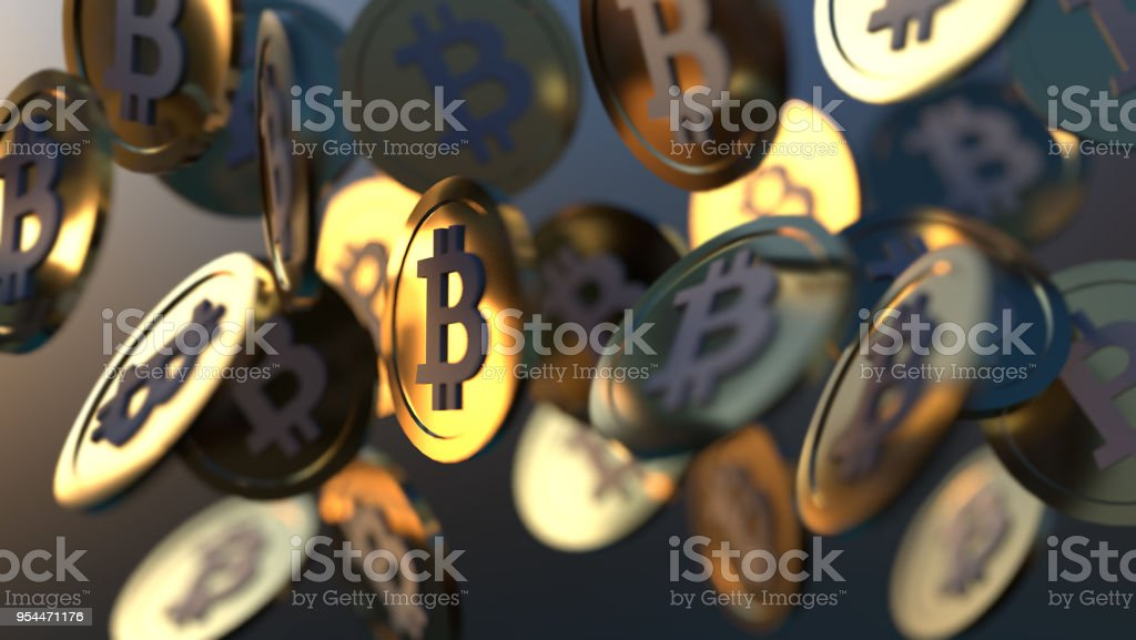 Crytpocurrency - fotografia de stock