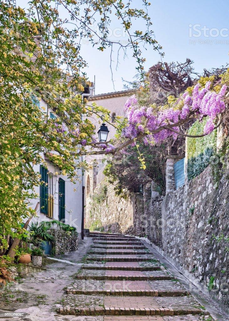 Franska Rivieran - Royaltyfri Alpes-Maritimes Bildbanksbilder