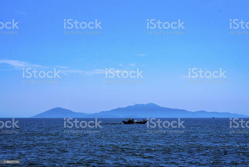 Cu lao cham island royalty-free stock photo
