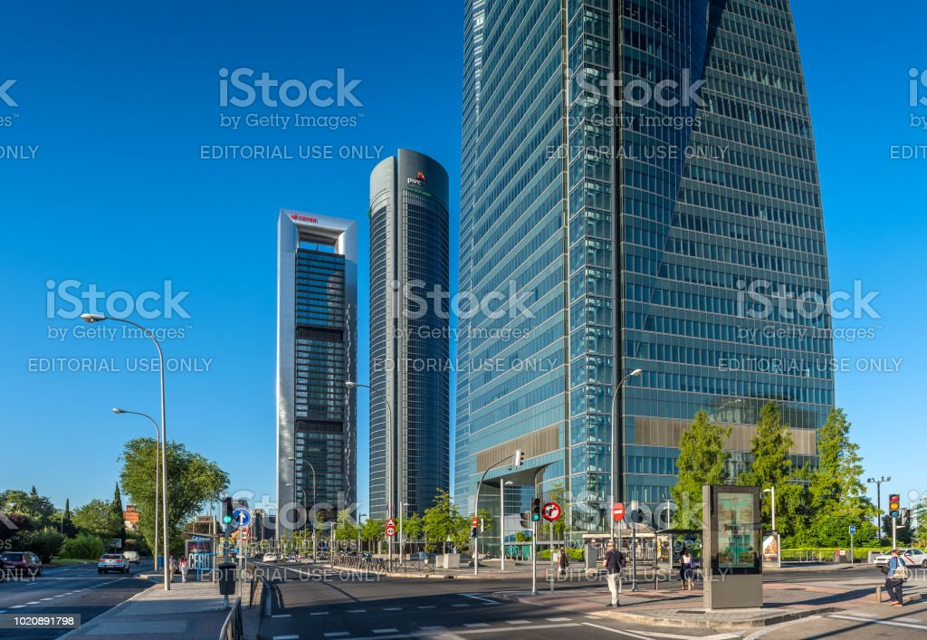 Cuatro Torres Business-Bereich – Foto