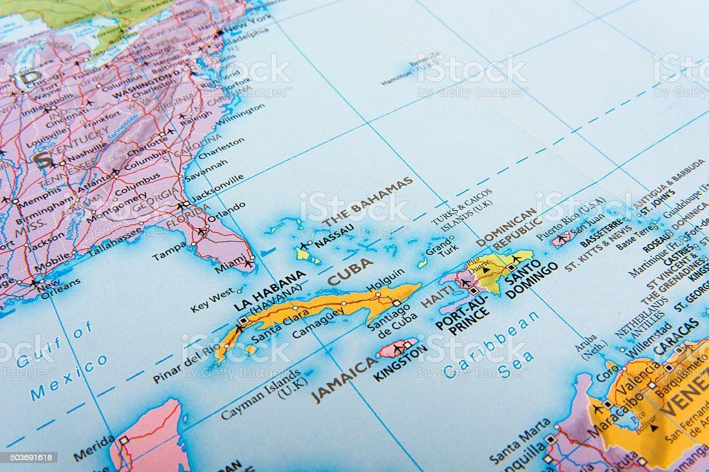 Cuba and Jamaıca stock photo