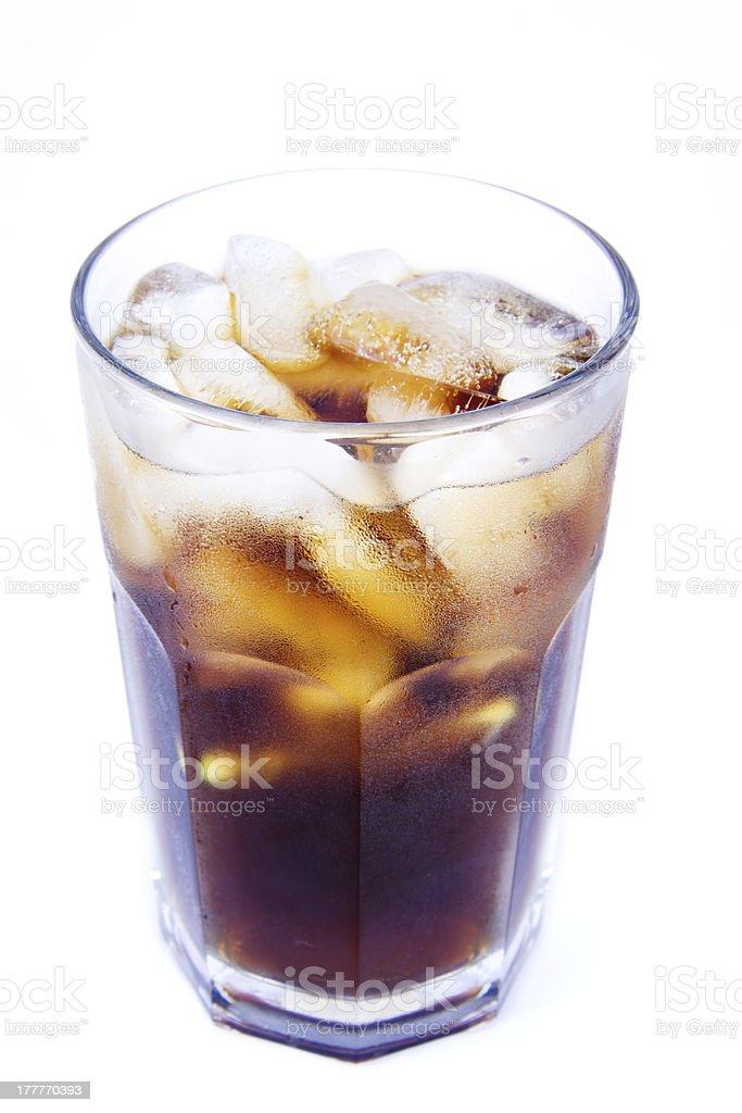 Kuba Libre Alkoholische Getränke Cola Mit Eisalkoholfrei Stock ...