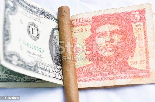 istock CUba money and American dollar 182928897